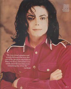 Remembering Michael Jackson With Love,           Liza Minnelli