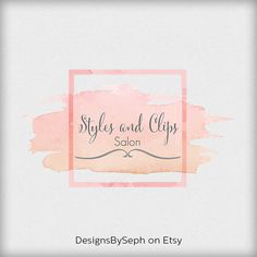 Premade Logo Design Perfect for Branding  Logo by DesignsBySeph, $15.00