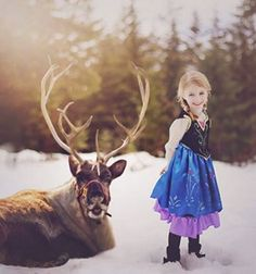 This photographer transformed her daughter into Disney characters and the results are absolutely stunning