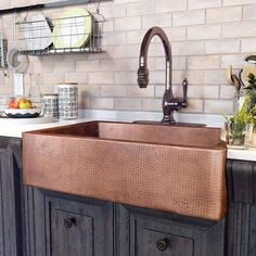 50 Beautiful Farmhouse Kitchen Sink Design Ideas And Decor. Below are the 50 Beautiful Farmhouse Kitchen Sink Design Ideas And Decor. Farmhouse Sink Kitchen, Modern Farmhouse Kitchens, Home Decor Kitchen, Rustic Kitchen, Kitchen Furniture, Rustic Furniture, New Kitchen, Cool Kitchens, Kitchen Ideas