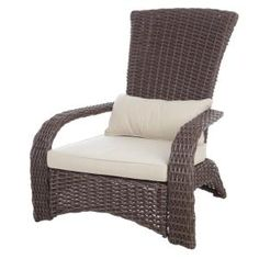 In Outdoor Wicker Chairs, Patio Lounge Chairs, Outdoor Armchair, Outdoor Lounge, Outdoor Seating, Adirondack Chairs, Club Chairs, Indoor Outdoor, Outdoor Living