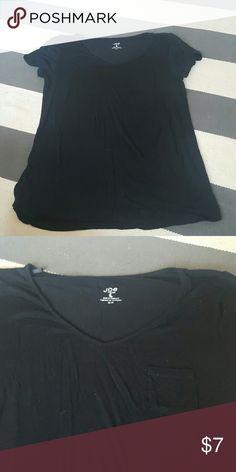 Joe Fresh Medium black tshirt size medium worn once no rips tears or stains Joe Fresh Tops Tees - Short Sleeve