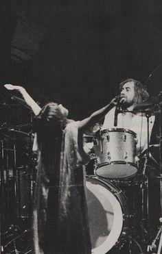 Fleetwood Mac's Stevie Nicks And Mick Fleetwood