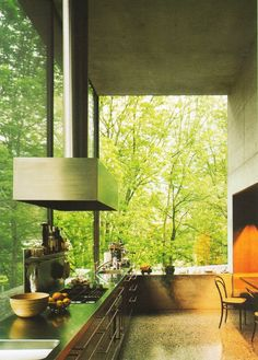 Peter Zumthors Home Studio, a Simple Beauty Camouflaged in the Forest   DesignRulz.com