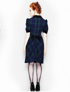 Hell Bunny Aramis Tartan Dress - love it!!!