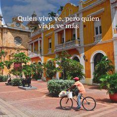 ✈ ¡Wow! Cartagena de Indias. Quien vive ve, pero quien viaja ve más