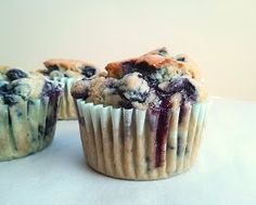 Adventures of Cake Girl : Gluten-Free Blueberry Muffin (soy-free, nut-free)