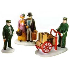 "Department 56: Products - ""Holiday Travelers"" - View Accessories"