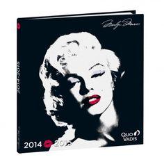 EXECUTIF SEPT, 16x16cm, Marilyn star, Quo Vadis