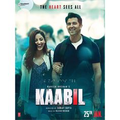 In the unseen love story ... the Heart sees all. #Kaabil