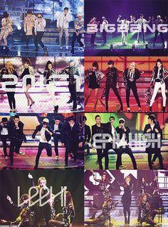 Yg famile at seoul music awards 2ne1, Daesung, Bigbang, Big Bang Kpop, Yg Artist, Yg Entertaiment, Fantastic Show, Seoul Music Awards, Artist Management