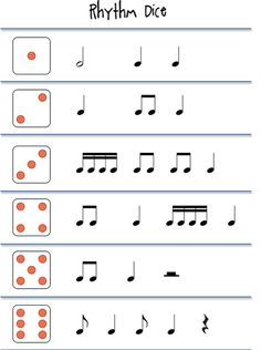Rhythm dice