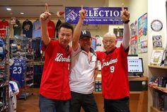 【大阪店】2014.06.30 広島から来て頂きました^^ベストショットを載せさせて頂きますっカープの一位を願ってのポーズ、最高です!!スナップありがとうございます。