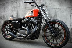 Cafe racers, scramblers, street trackers, vintage bikes and much more. The best garage for special motorcycles and cafe racers. #harleydavidsonbobbecaferacers #harleydavidsonbobberssportster