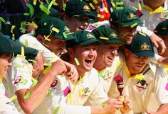 Australia Wins the Ashes Test Series 5 - 0. #PinkTest