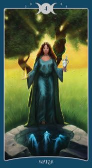 Book of Shadows Tarot.  A Wiccan deck with delightful, sensual imagery, exquisitely detailed and rendered in vibrant colours. This could surely become any self-respecting witch's favourite familiar.