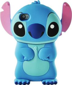 So cute!!!   Disney 3D Stitch Movable Ear Flip Hard Case For iPhone | @Haydee Varela esto está hermosísimo!!! Lo quiero pero para BB