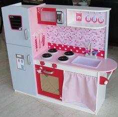 Cocina de juguete con accesorios cocina de juguete de for Cocina ninos juguete