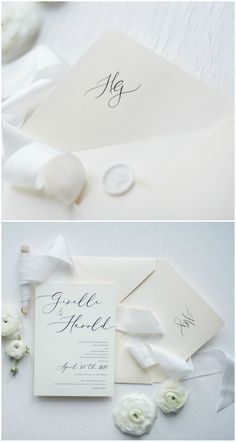 Add beautiful personalized touch to your wedding stationery. Wax Seal stamp will be a perfect finishing for wedding invitation envelope. All fully assembled and completely customizable. Very elegant and romantic combination #wedding