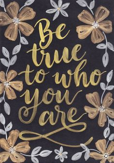 Beautiful Metallic watercolours on black cardstock. Can be customised by lettering artist Soni Bassingthwaighte Happy Thoughts, Positive Thoughts, Positive Quotes, Cute Quotes, Great Quotes, Quotes To Live By, Spiritual Life, Spiritual Quotes, Spiritual Psychology