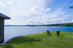 Lake Winnipesaukee at 162 Alpine Park Road Moultonborough, NH.