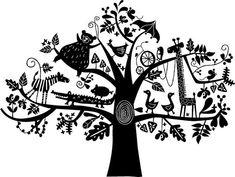 Animals In A Tree by Joanne Liu