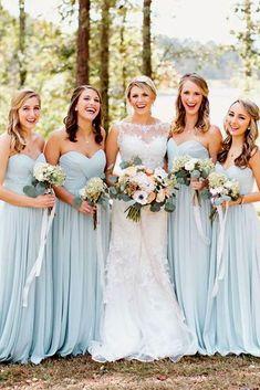 Bridesmaid Dresses Long Blue, Grey Bridesmaids, Bridesmaid Dress Colors, Long Dresses, Halter Dresses, Bridesmaid Ideas, Wedding Who Pays, Wedding Photography Styles, Film Photography