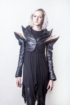 Black Pente Jacket by Geoffrey Mac