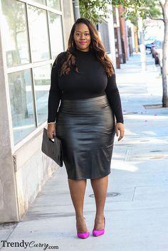 Plus Size Fashion - TrendyCurvy #plussize #psbloggers