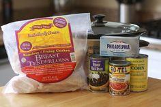 Chicken crock pot - Easiest Dinner Ever.