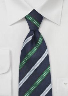 Krawatte navyblau Tino Cosma
