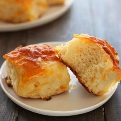 Cheddar Potato Rolls from handletheheat.com