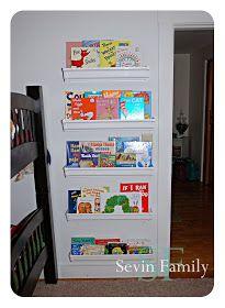 Sevin Family: Gutter Bookshelves