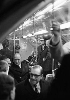 theimperialcourt:  The Queen on the Underground