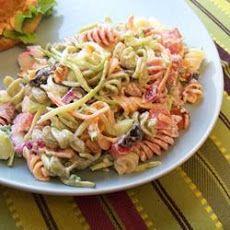 Bacon Ranch Pasta Salad III Recipe