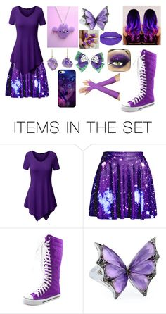 """NEVERIRL 15 (Purple)"" by nevergirl613 on Polyvore featuring art"