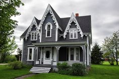 House in Annapolis Royal, Nova Scotia