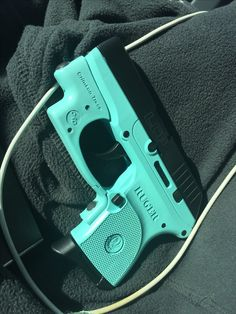 The Wifey's Dream Tiffany Blue EDC Ruger LCP w/ Crimson Trace!!! Finally Came True!!!