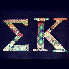 Sigma Kappa Crafts ❤️❤️❤️