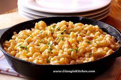 Stove Top Macaroni and Cheese new at www.GiangisKitchen.com