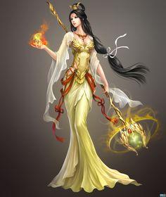 Fantasy Art Women, 3d Fantasy, Beautiful Fantasy Art, Fantasy Warrior, Anime Fantasy, Medieval Fantasy, Fantasy Girl, Fantasy Artwork, Female Character Design
