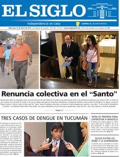 Diario El Siglo - Miércoles 24 de Abril de 20 13