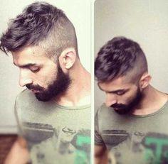 Mens Short Undercut Style Hair