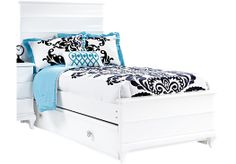 Shop for a Milan White 3 Pc Full Bed at Rooms To Go Kids. Find  that will look great in your home and complement the rest of your furniture. #iSofa #roomstogo