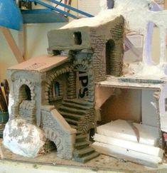 1 million+ Stunning Free Images to Use Anywhere Nativity House, Diy Nativity, Christmas Nativity Scene, Nativity Scenes, Christmas In Italy, Christmas Town, Christmas Villages, Christmas Origami, Christmas Crafts