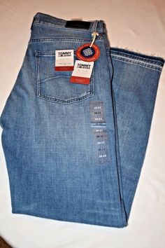 99ea52f2c4b NWT Tommy Hilfiger High Rise Slim Izzy Jeans Size 30 32  fashion  clothing   shoes  accessories  womensclothing  jeans (ebay link)