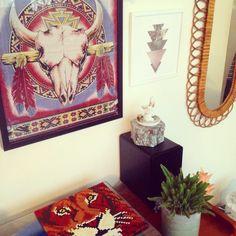 #deco #decoration #hipster #hama #interiors #home #homesweethome #vintage #vintagehome #homedecor #boho #bohohome #hippie #cactus #miror #skull #lion #rotin #bohemian #wall #walldecor #freespirit