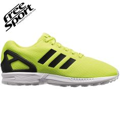 new product 2e639 03772 Adidas ZX FLUX Gialla Fluo Solar Yellow M22508 - Free Sport Solare