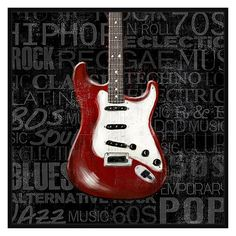 PTM Images Guitar Melodies Decorative Wall Art e5d70be751b9