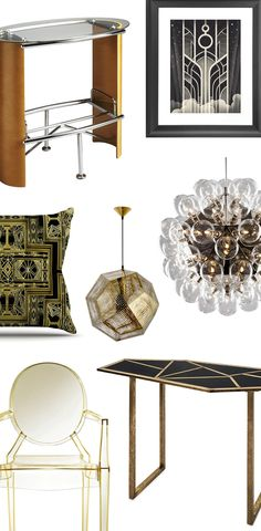 Art Deco Furniture & Décor | Shop Now at dotandbo.com